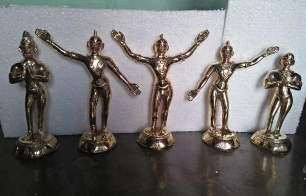 Panchattva Deities Metal 12 Inches Original Asthadhatu Metal