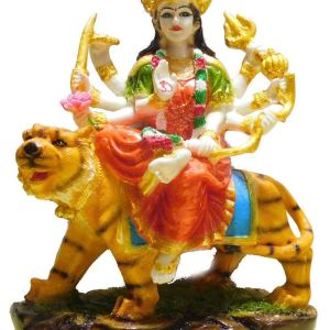 Godess Durga Devi on Lion or Shero Wali Maa