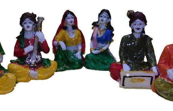 Rajasthani Musicians Group- Set of 6