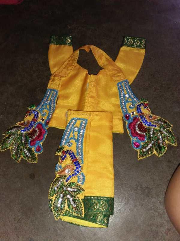 Gaura Nitai Dress Yellow