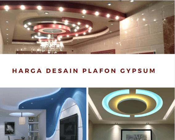 Harga Desain Plafon Gypsum Terbaru