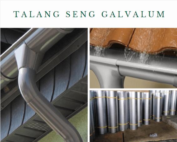 ukuran Talang Seng Galvalum