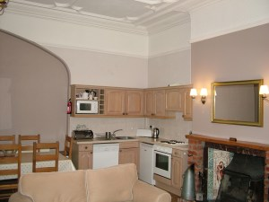 Sandringham's living room half redecorated!