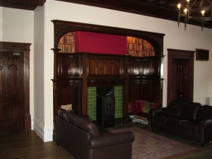 Hargate Hall fireplace