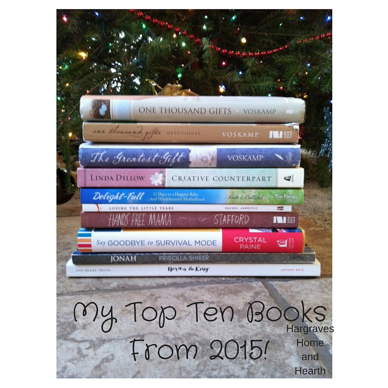 My Top 10 Books From 2015!