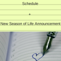 New Podcast Schedule + New Season of Life Announcement
