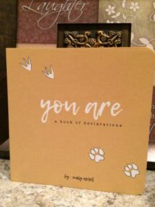 You Are: A Book of Declarations by Emily Assell