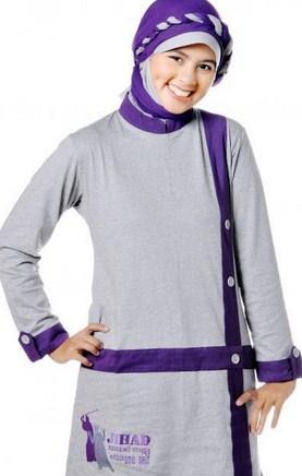 Model Baju Senam Muslim dari Toko Online