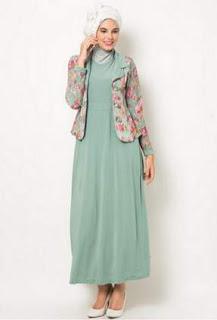 Model Baju Batik Muslim untuk Wanita Muda yang Fashionable
