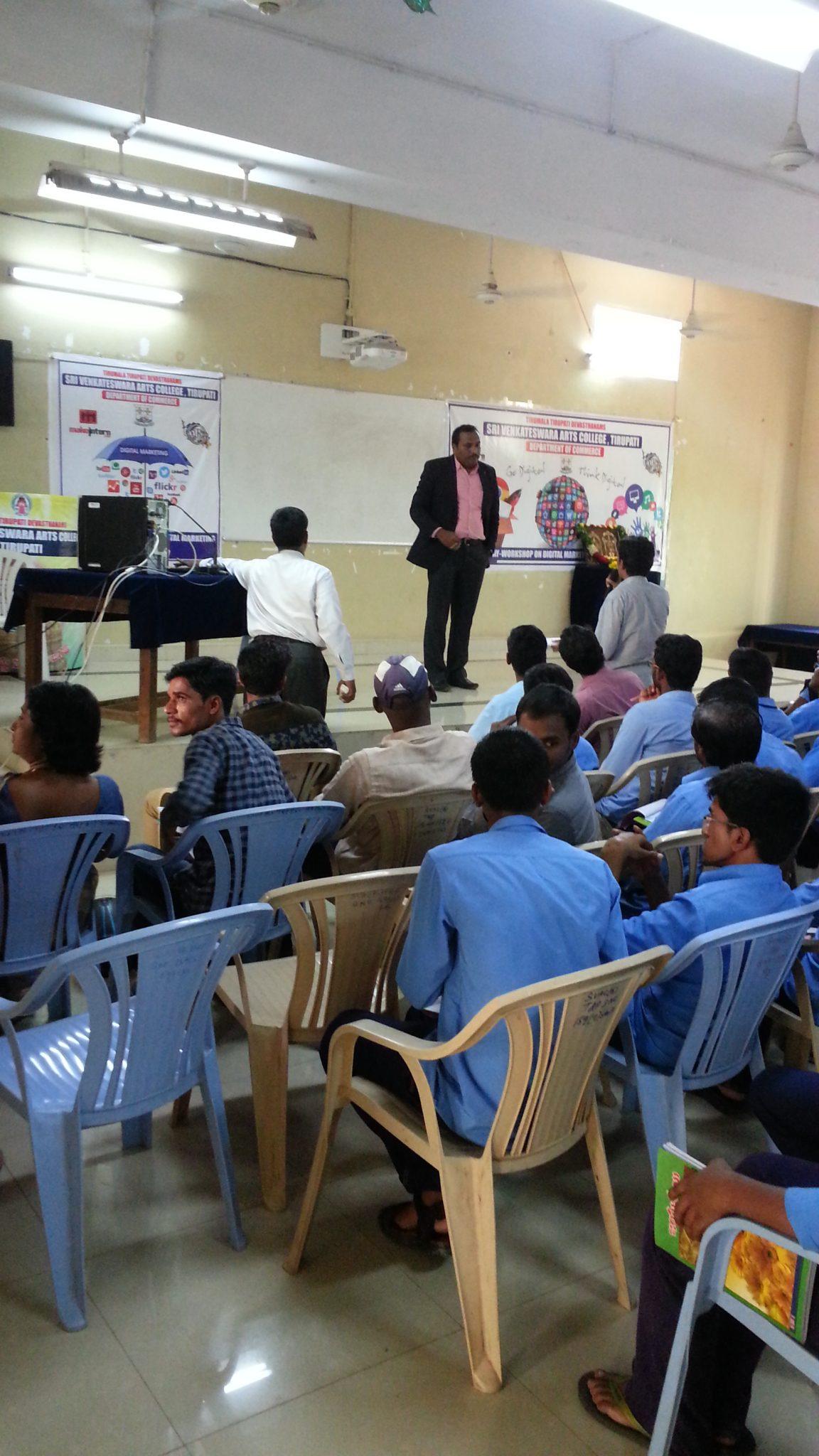 Rhyme's acquisition cost, andrew ng's deeplearning.ai revenue, no. Digital Marketing Seminar at SV University Tirupati ...