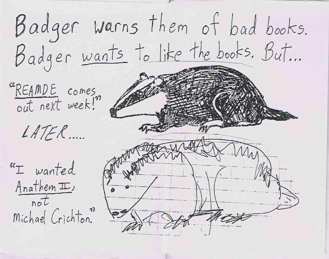 A Badger Cat