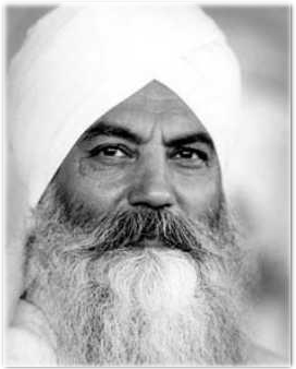 "Today: ""Kundalini yoga is a method to become nothing, so that everything can flow through you."" – Yogi Bhajan"