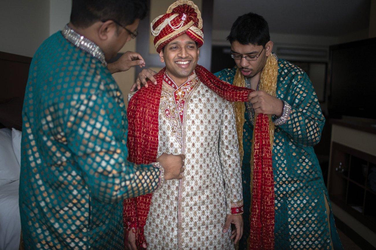 S1-1-1346 Sheetal + Guru   Hindu Indian Wedding Photos   South Florida