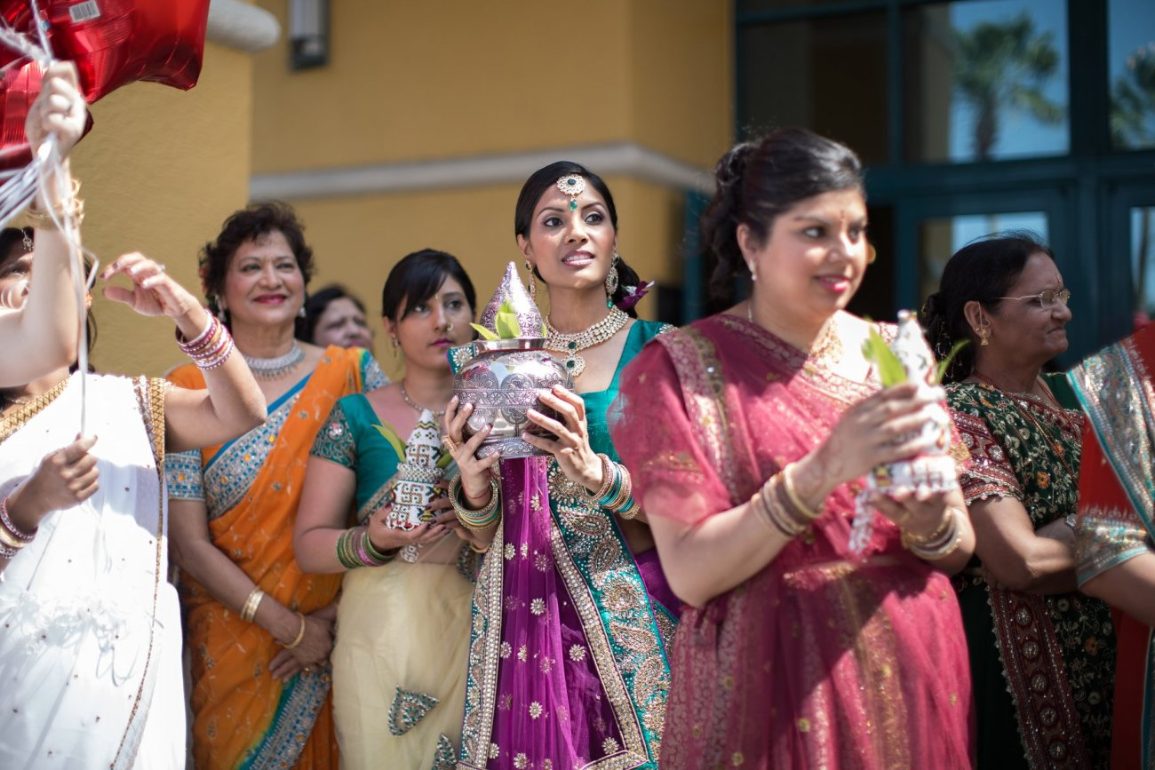 S1-1-1357 Sheetal + Guru | Hindu Indian Wedding Photos | South Florida