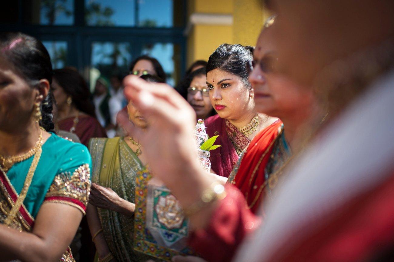 S1-1-1378 Sheetal + Guru   Hindu Indian Wedding Photos   South Florida