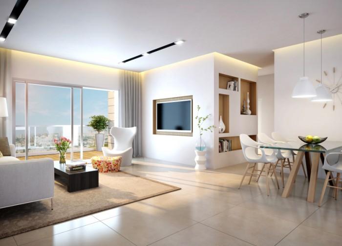TOPIA חריש - הדמיית פנים 4 חדרים