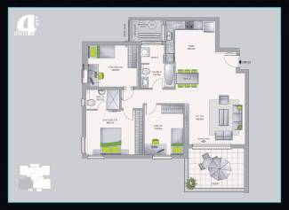 דירת 4 חדרים גדולה אשדר בחריש