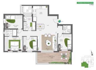 דירת 5 חדרים מיני פנטהאוז | על הפארק בחריש חנן מור
