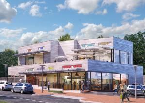 מרכז מסחרי שכונתי חריש - רחוב אודם
