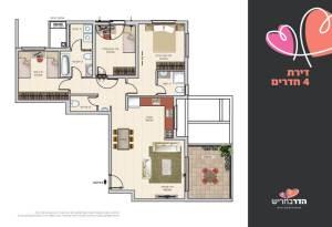 דירת 4 חדרים | הדר בחריש