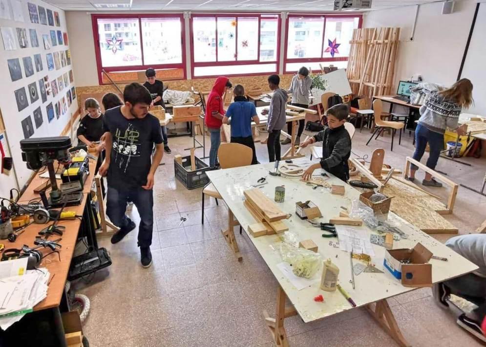חטיבת הביניים בחריש - בית הספר לאתגרי העתיד