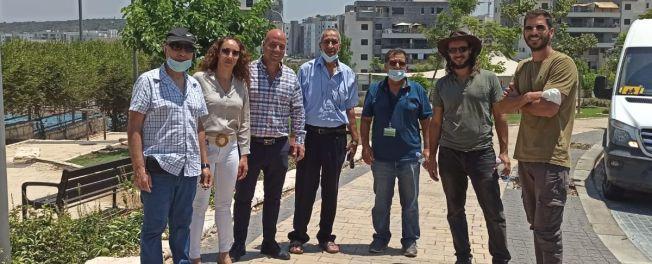 חריש משתתפת בתחרות קריה יפה ומקיימת לישראל