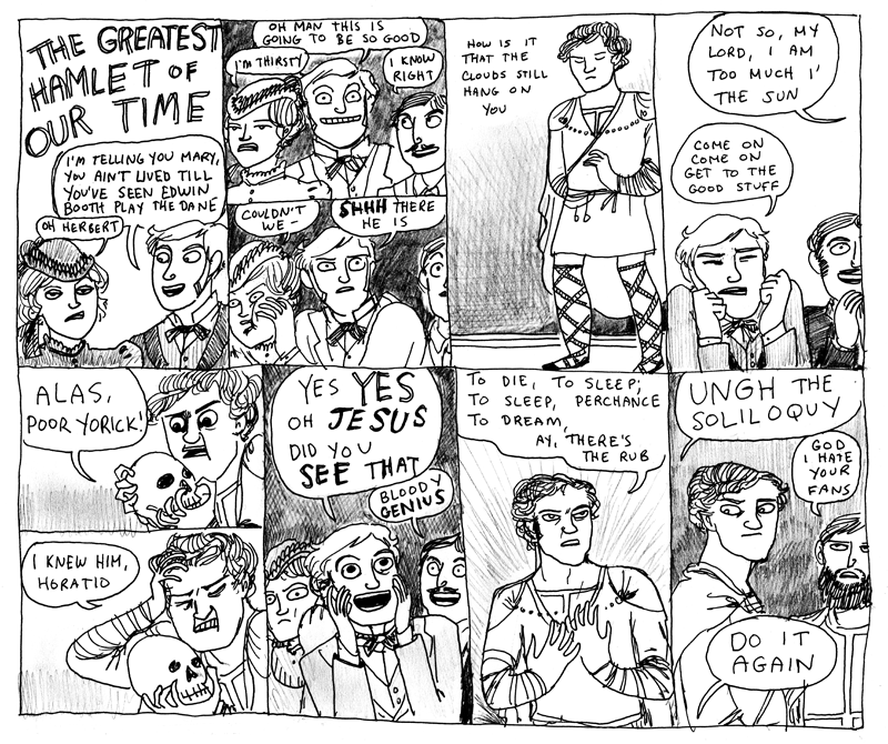 (c) Kate Beaton, who is my favourite comics artist ever