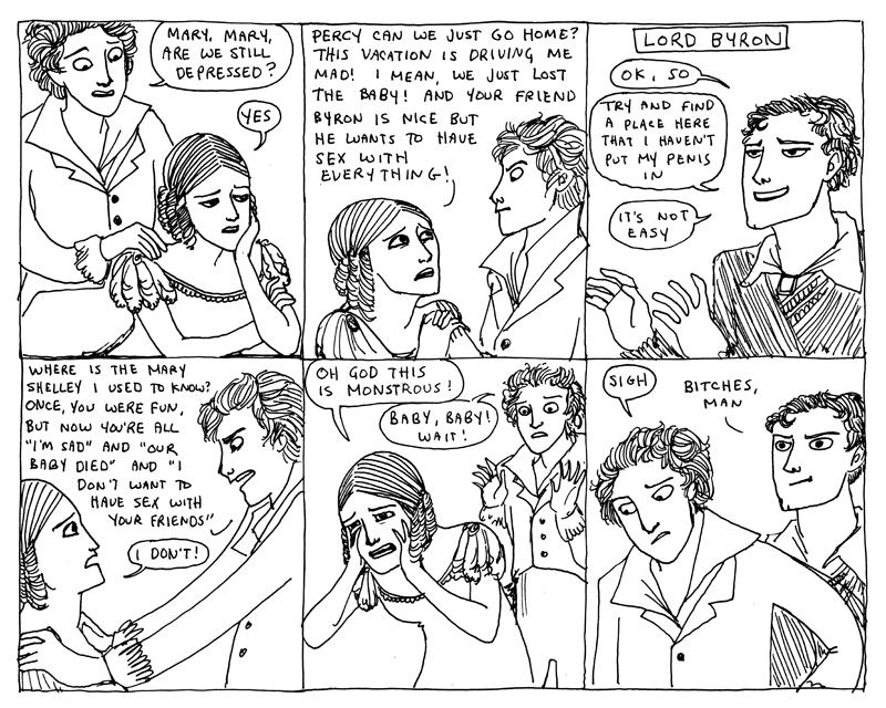 Историк + феминизъм + чувство за хумор + художнически умения = чудесно прекарано свободно време и някои стряскащи погледи към историята. :)