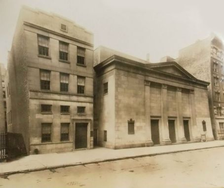 Orig 1920 Harlem Christian Science Seventh Church New York City