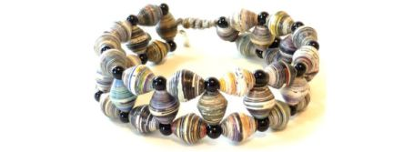 Chan Luu Multi Onyx Bracelet