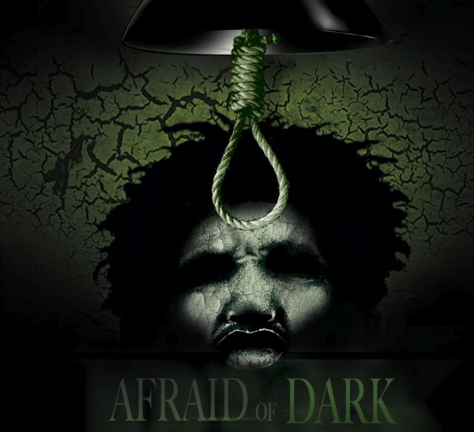 afriad of the dark poster