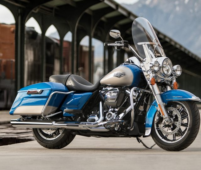 2018blue Road King