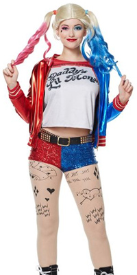 The Best Harley Quinn Halloween Costume Ideas The Best Discount Harley Quinn Costumes