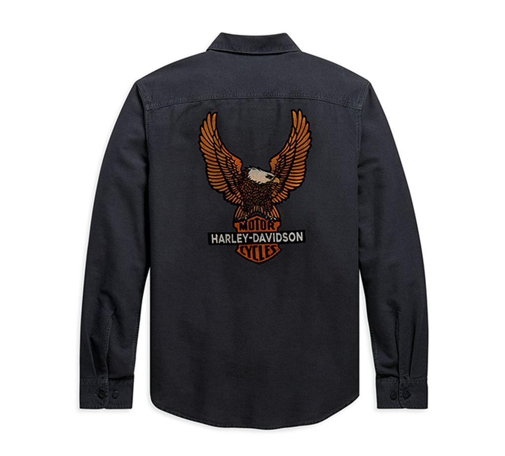 Harley-Davidson Viterbo-Vintage Eagle Shirt