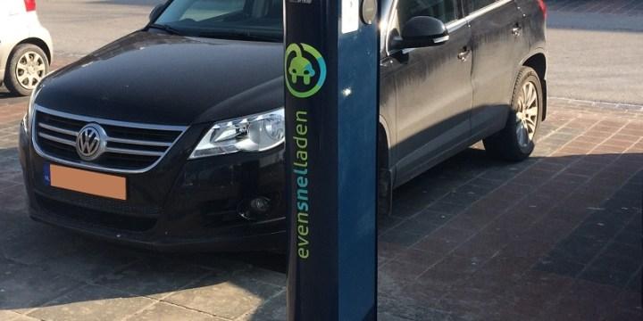 Steeds meer openbare oplaadpalen voor elektrische auto's
