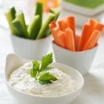 Des dips de légumes pour illustrer le dip bend !