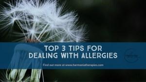 Allergy tips blog