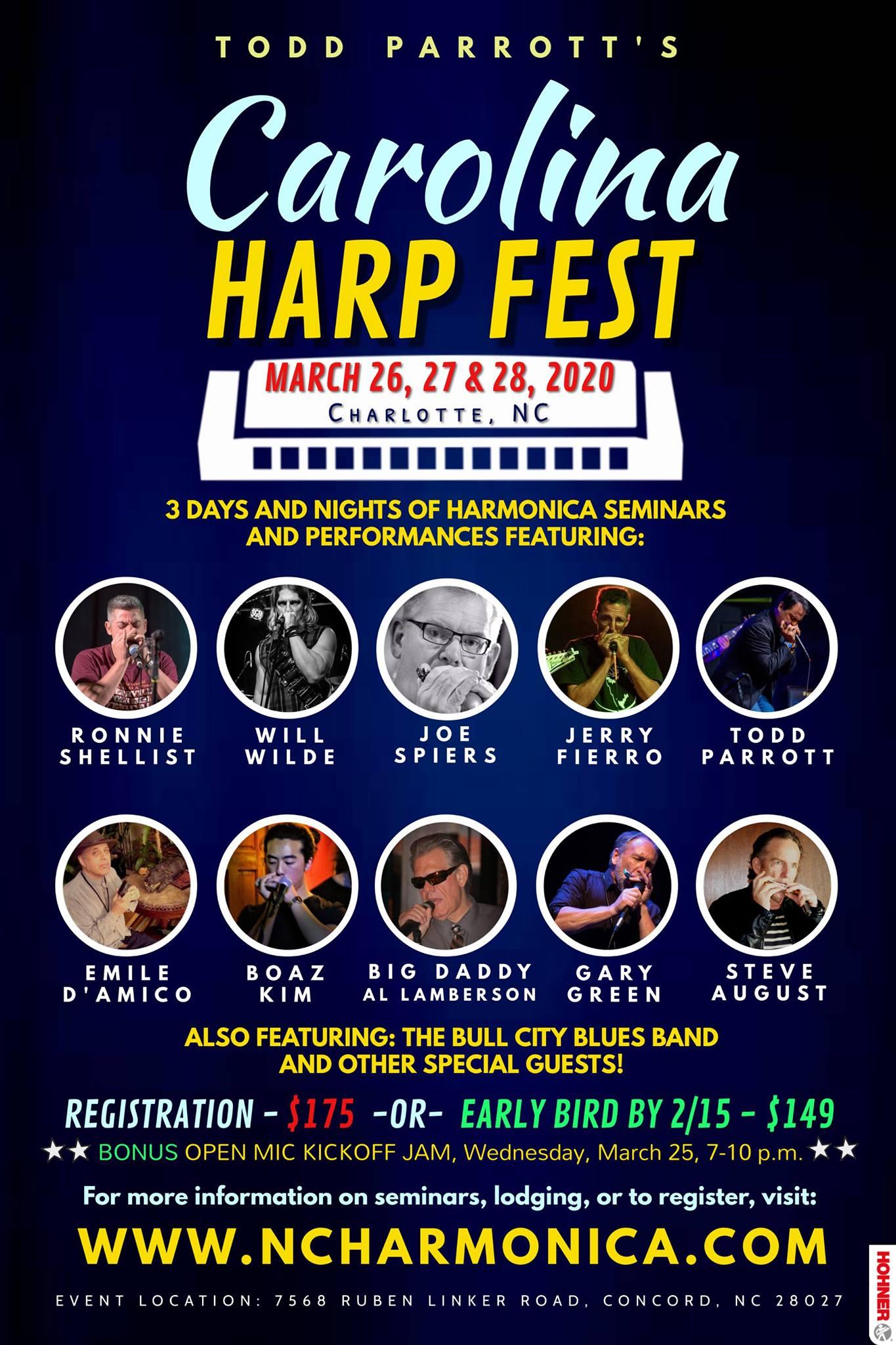 Carolina Harp Fest – Todd Parrott