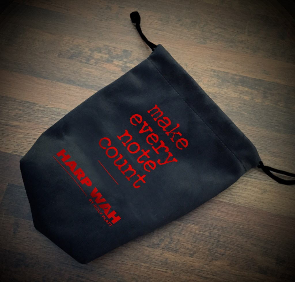 Pouches for harmonica gear