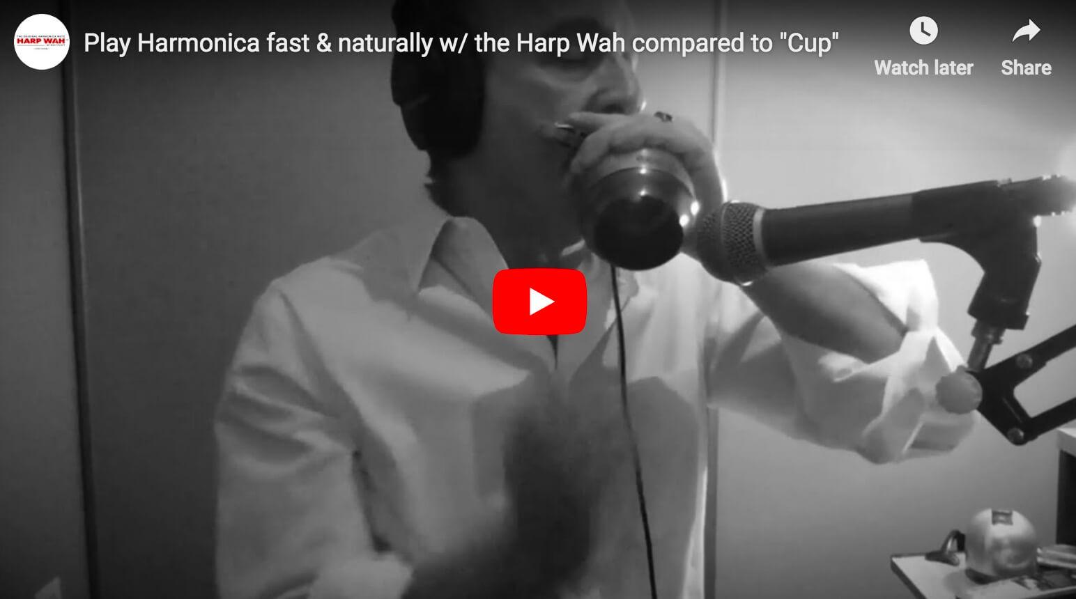 Play Harp fast & naturally w/ the Harp Wah
