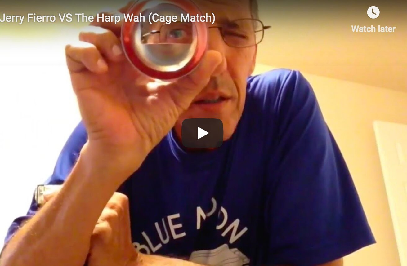 Jerry Fierro VS the Harp Wah (Cage Match)