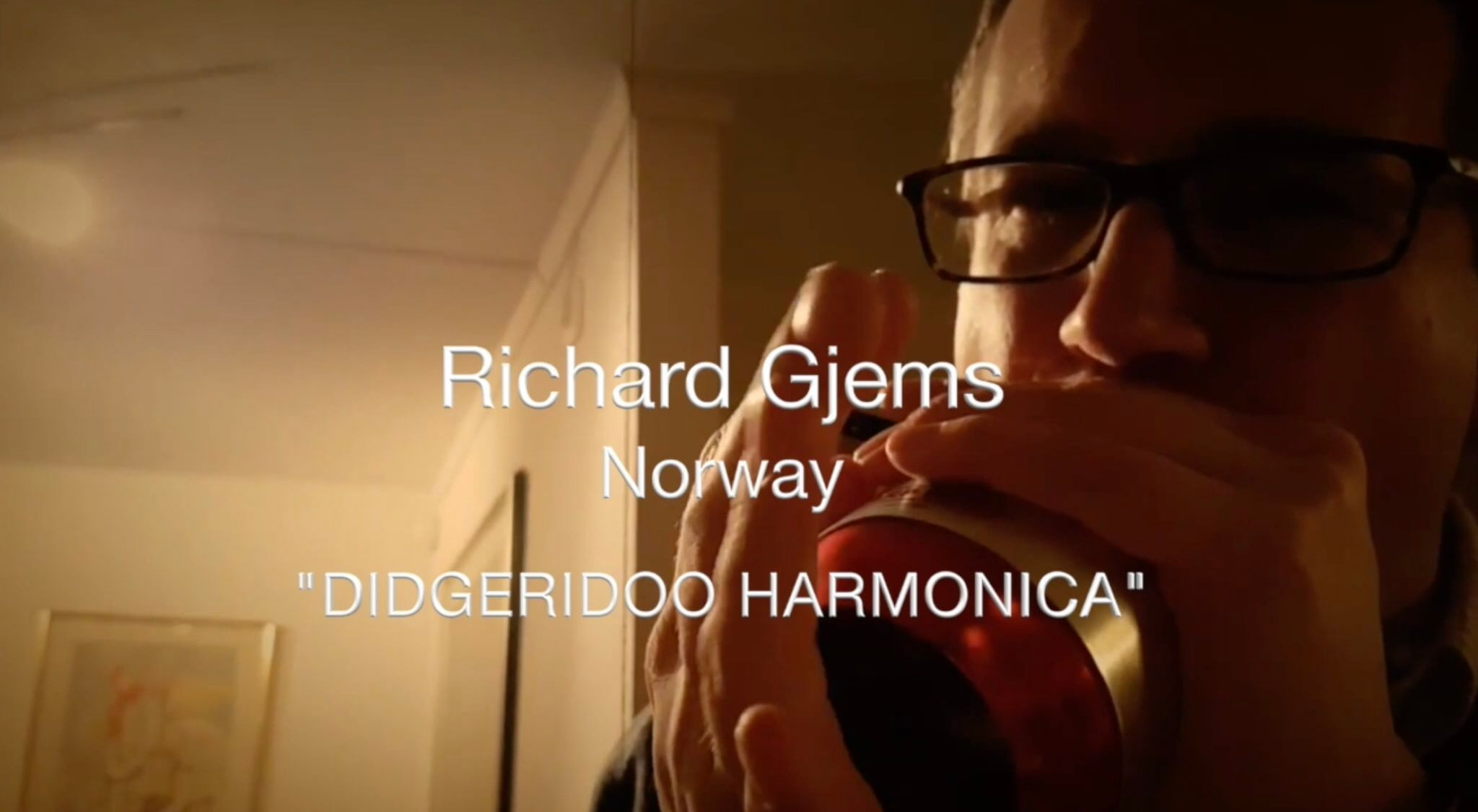 "Harmonica ""DIDGERIDOO"" w/ the Harp Wah – Richard Gjems"