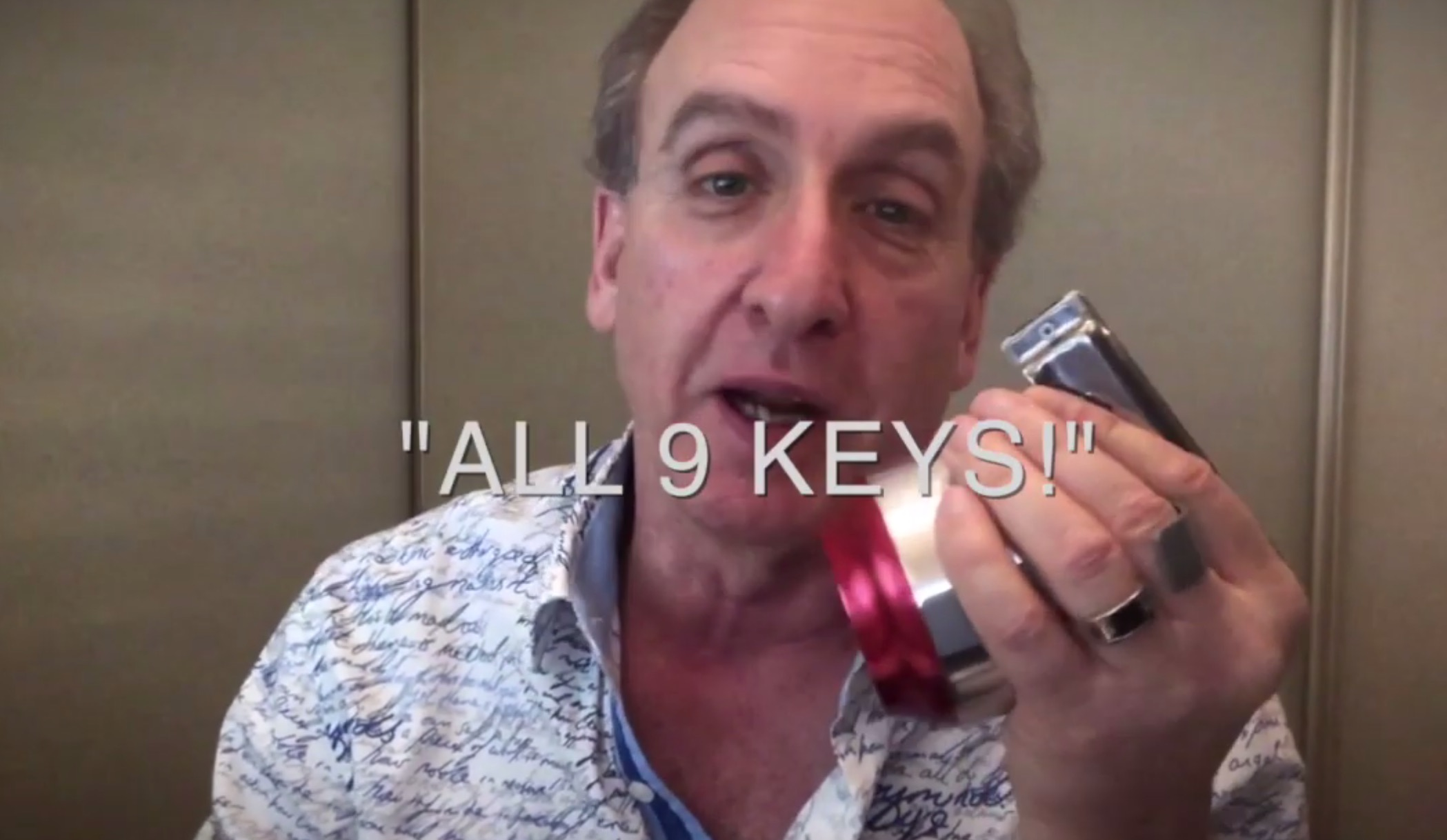 """Stories From the Road: """"All 9 Keys!"""""""