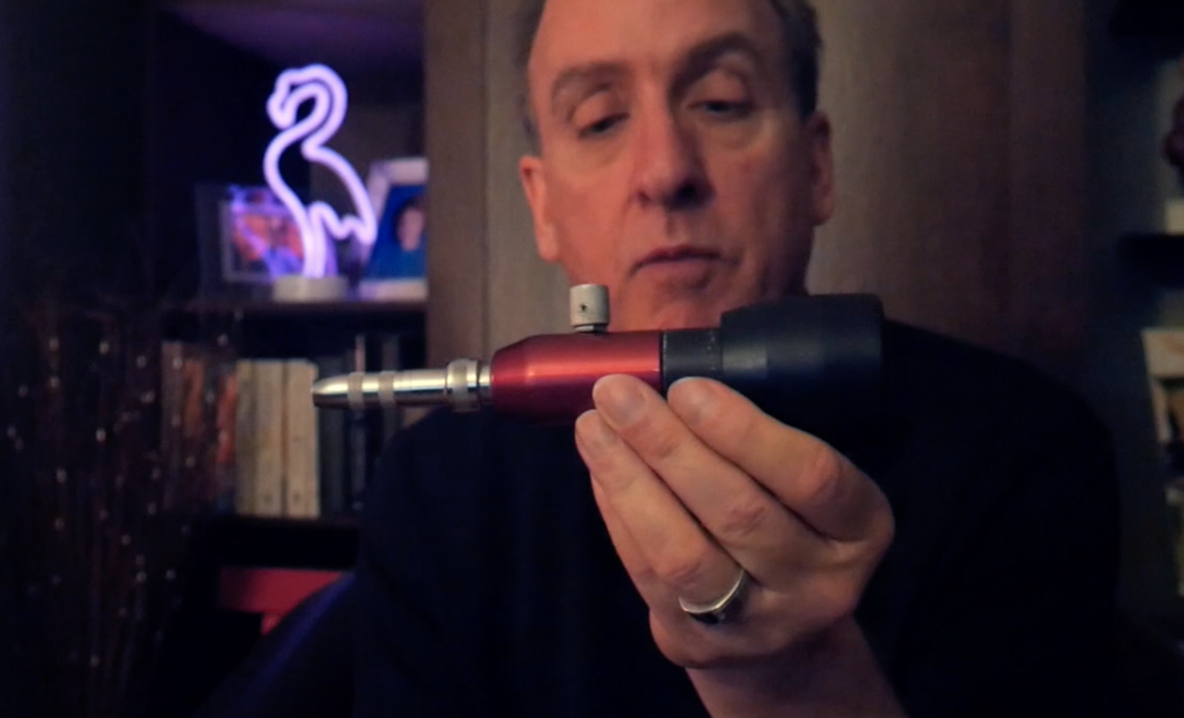 "Roly Platt on Greg Heumann's ""Blows Me Away"" Mics"