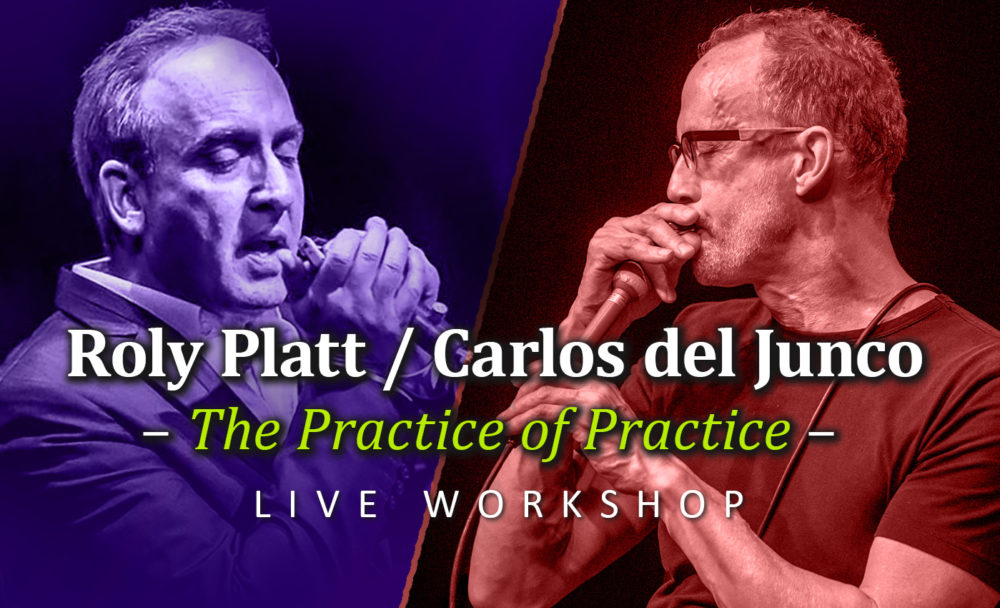 "(Workshop) Carlos del Junco & Roly Platt: ""The Practice of Practice"""
