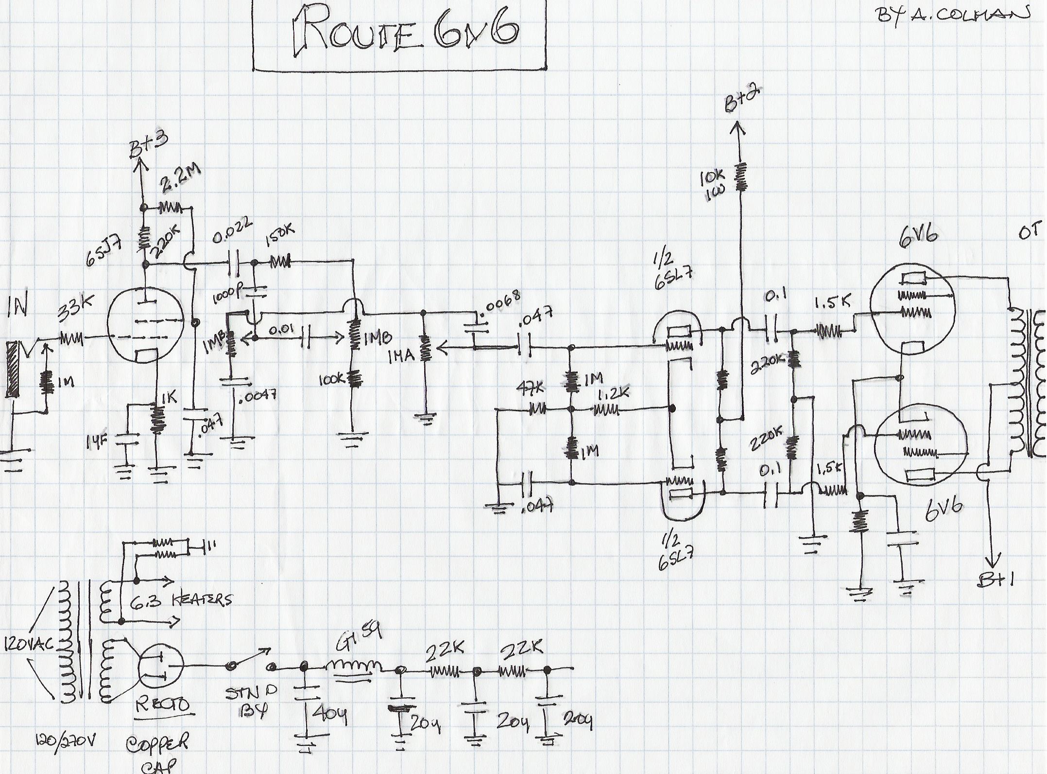 Hammond Organ Amp Conversion
