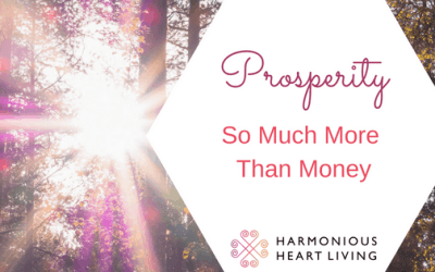 Prosperity : So Much More Than Money