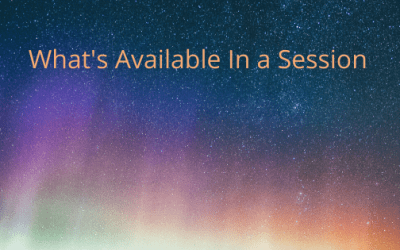 What's Available in a Session