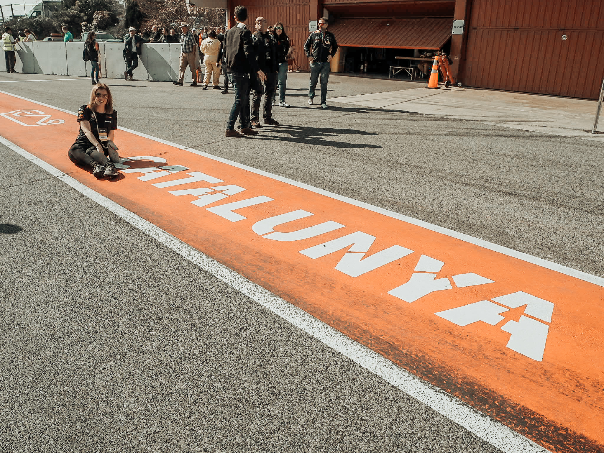 Barcelona Photo Diary - Day Two Pit Lane Circuit de Catalunya