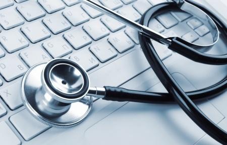 Stethoscope and Keyboard